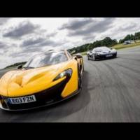 VIDEO: Jay Leno takes a ride in the McLaren P1 at Top Gear test track