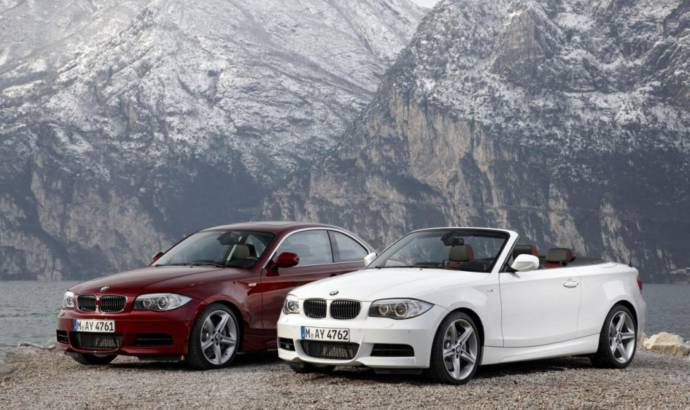 2011 BMW 1-Series Coupe and Convertible phased out