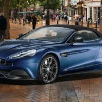 2013 Aston Martin Vanquish Volante will be available in Neiman Marcus Christmas Book