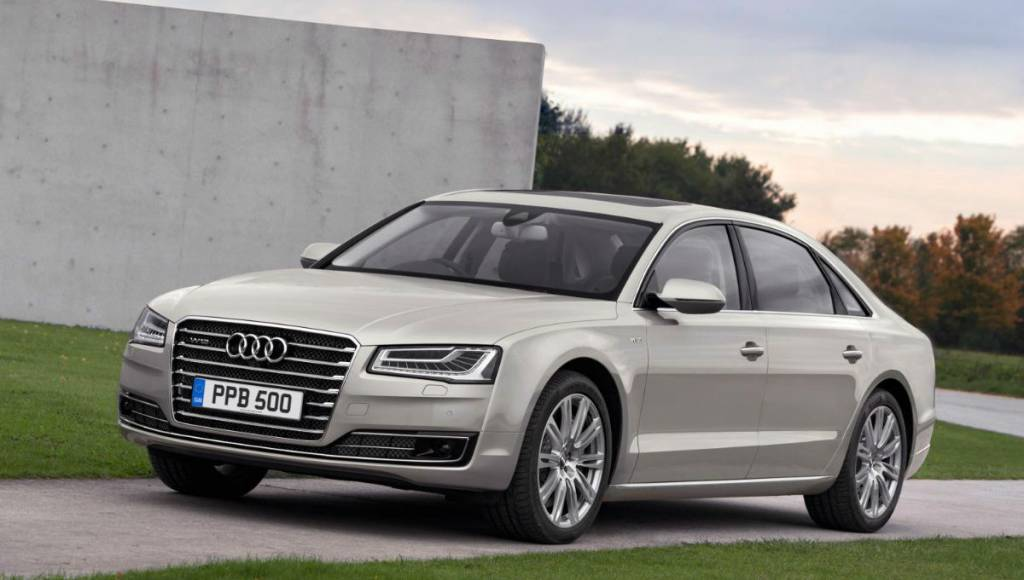 2013 Audi A8 - UK prices