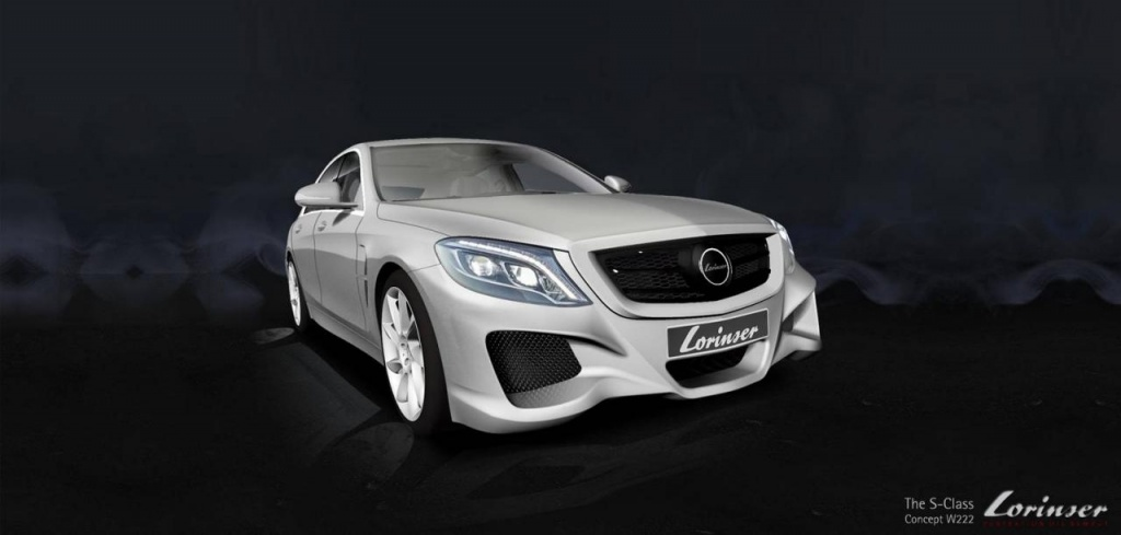 2013 Mercedes-Benz S-Class modified by Lorinser