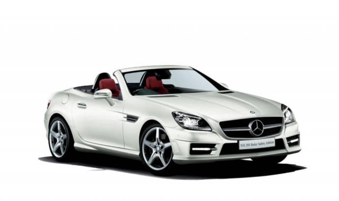 2013 Mercedes-Benz SLK 200 Radar Safety Edition unveiled