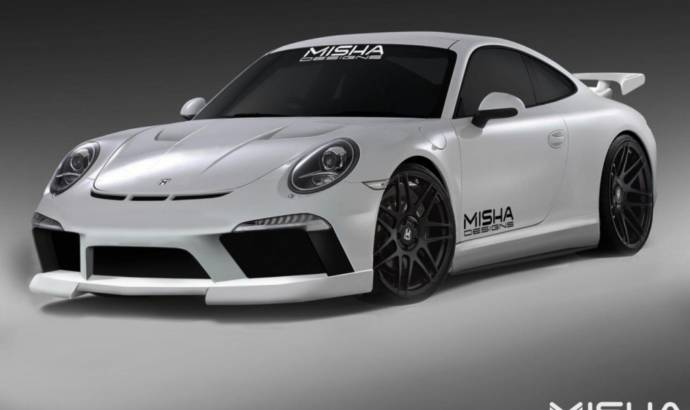 2013 Porsche 911 modified by Misha Design