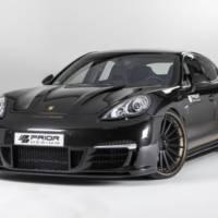 2013 Porsche Panamera Turbo modified by Prior Design