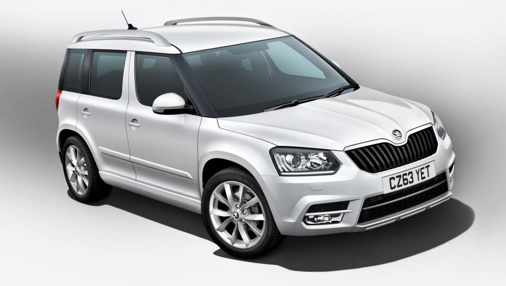 2013 Skoda Yeti UK prices