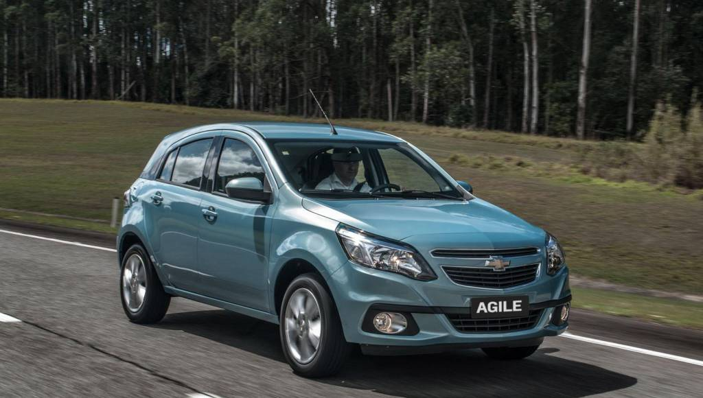 2014 Chevrolet Agile facelift