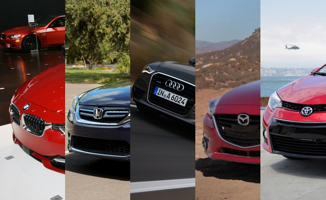 2014 Green Car of the Year - The five finalists