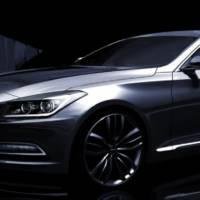 2014 Hyundai Genesis teased