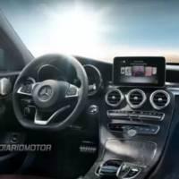 2014 Mercedes-Benz C-Class - First exterior shots