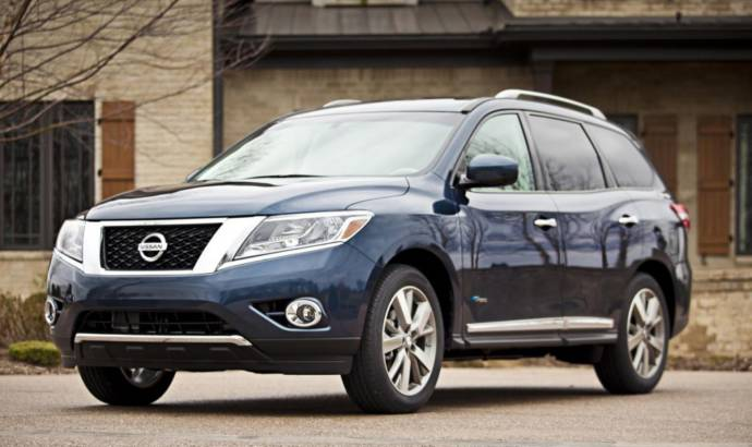 2014 Nissan Pathfinder Hybrid US pricing