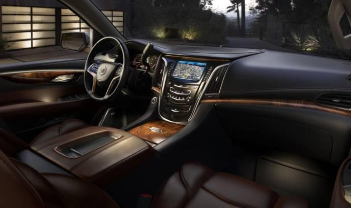 2015 Cadillac Escalade interior photos