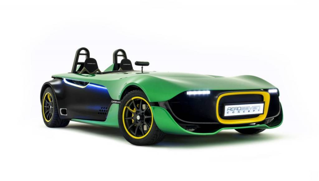Caterham future city cars will be develop in partnership