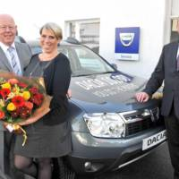 Dacia delivers its 10.000 car in the UK