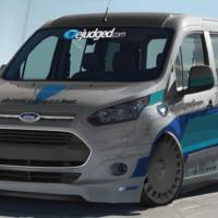 Ford Transit Connect ready for SEMA 2013