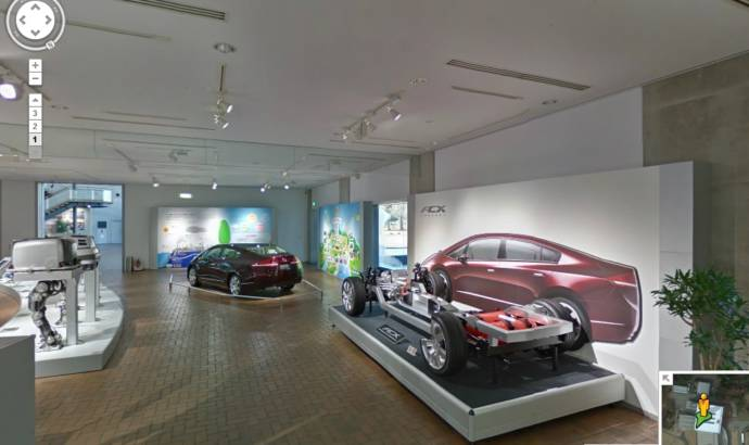 Honda Museum can now be visited on Google Street View