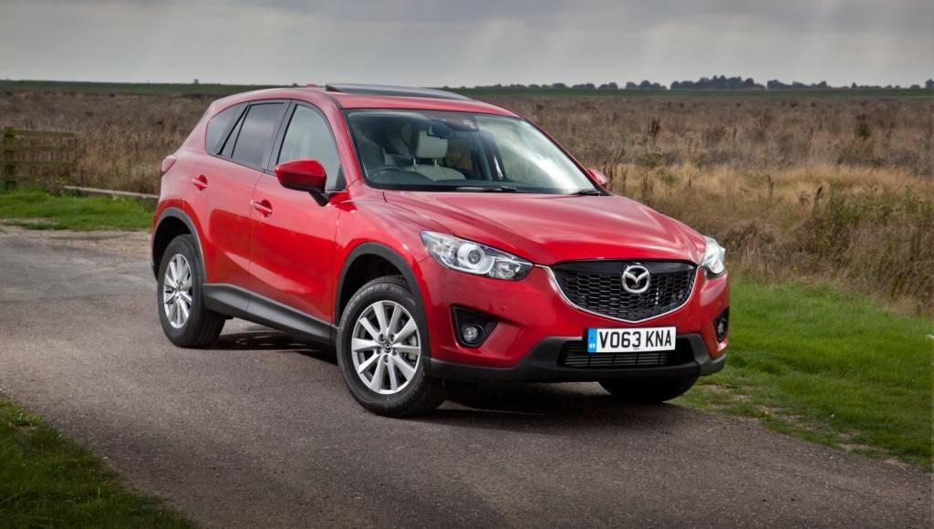 Mazda CX-5 SE-L Lux models introduced in UK