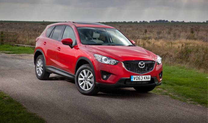 Mazda CX-5 SE-L Lux models introduced in UK