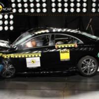 Mercedes CLA earns 5 stars EuroNCAP