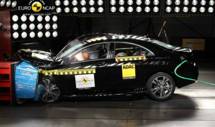 Mercedes CLA earns 5 stars EuroNCAP