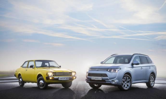 Mitsubishi reaches 40 years on European market