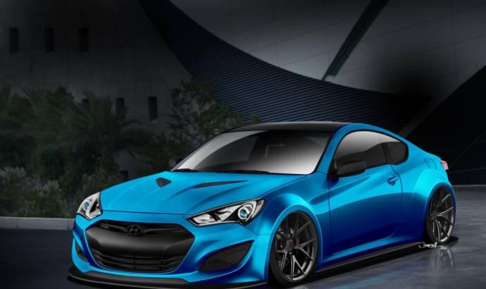 Pangilian Hyundai Genesis Coupe for SEMA