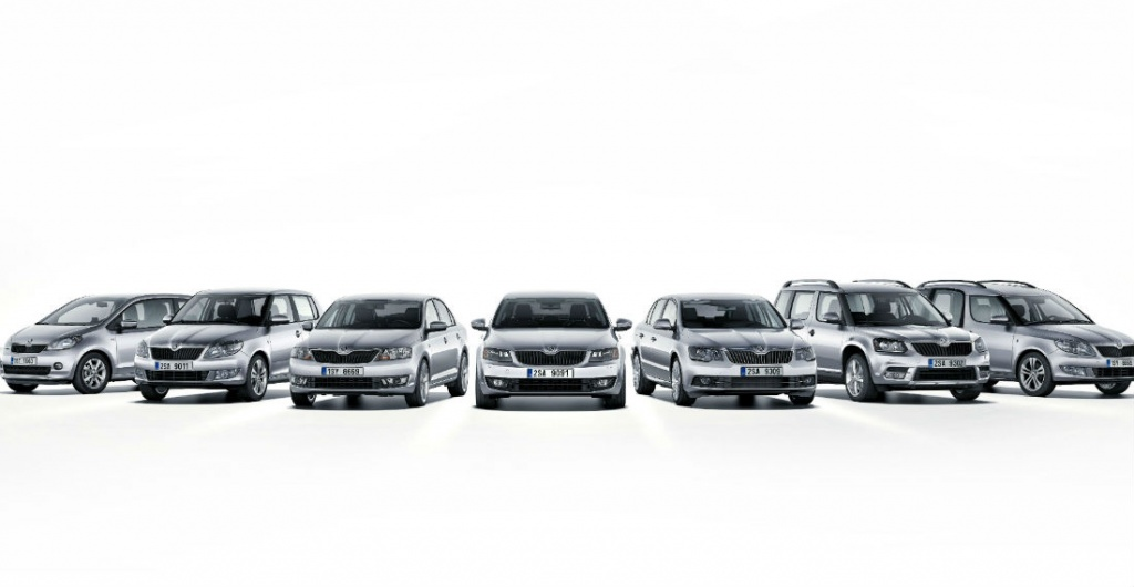 Skoda, the largest manufacturer in Central Europe