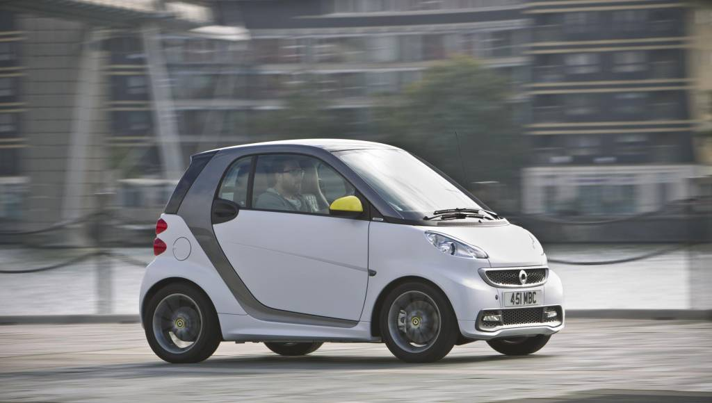 Smart fortwo BoConcept Edition available in UK