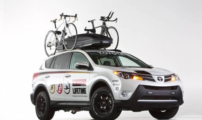 Toyota RAV4 Life Time Fitness ready for SEMA