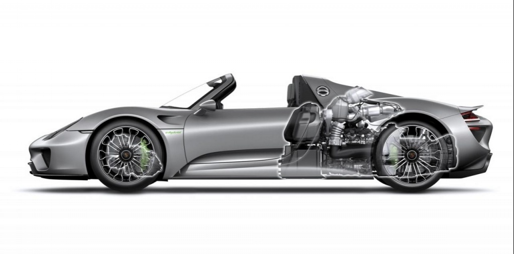VIDEO: Porsche 918 Spyder detailed