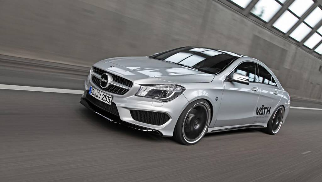 Vaeth Mercedes CLA 250 tuning program