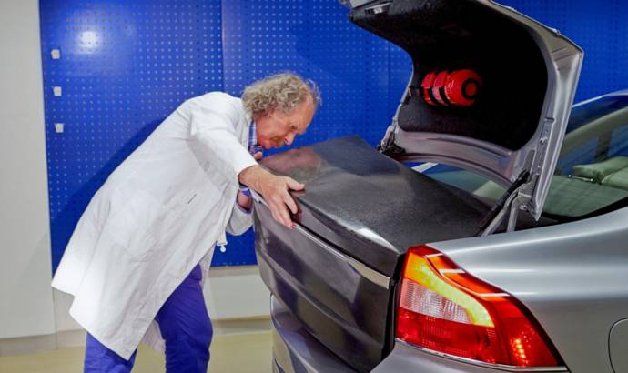 Volvo rechargeable body panels to substitute batteries