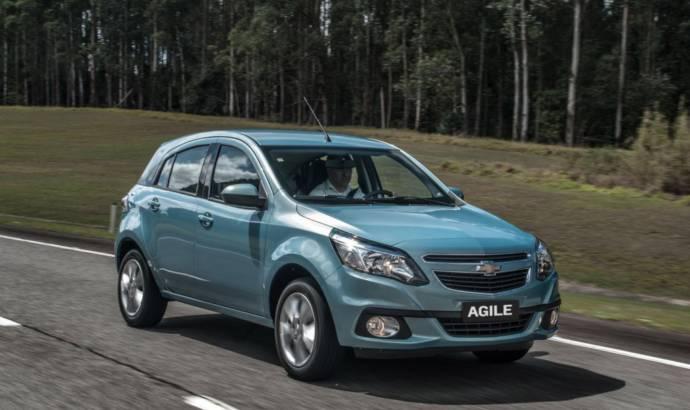 2014 Chevrolet Agile facelift
