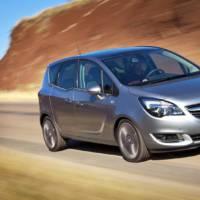 2014 Opel Meriva facelift introduced