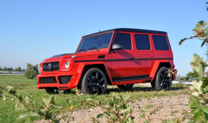 German Special Customs Mercedes G63 AMG tuning kit