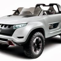 Suzuki X-Lander unveiled ahead of Tokyo Motor Show