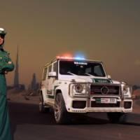 2013 Brabus B63S-Widestar made for Dubai police