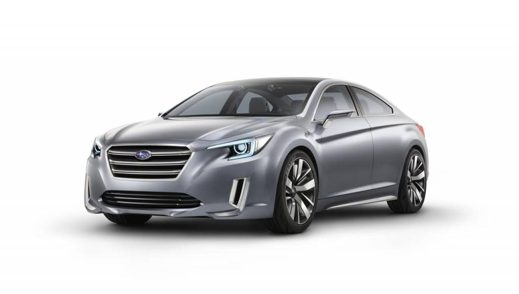 2013 Subaru Legacy Concept revealed ahead of LA debut