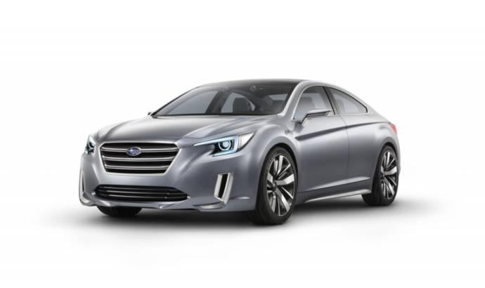 2013 Subaru Legacy Concept revealed ahead of LA debut