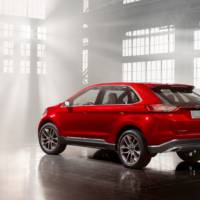 2014 Ford Edge global SUV launched