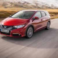 2014 Honda Civic Tourer UK price announced