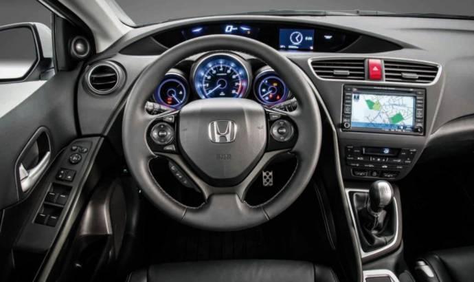 2014 Honda Civic hatchback unveiled