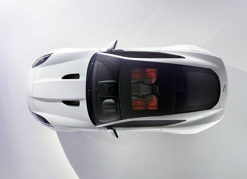 2014 Jaguar F-Type Coupe - First official picture