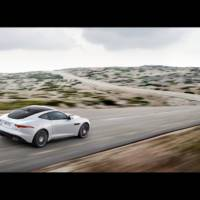 2014 Jaguar F-Type Coupe unveiled in Los Angeles