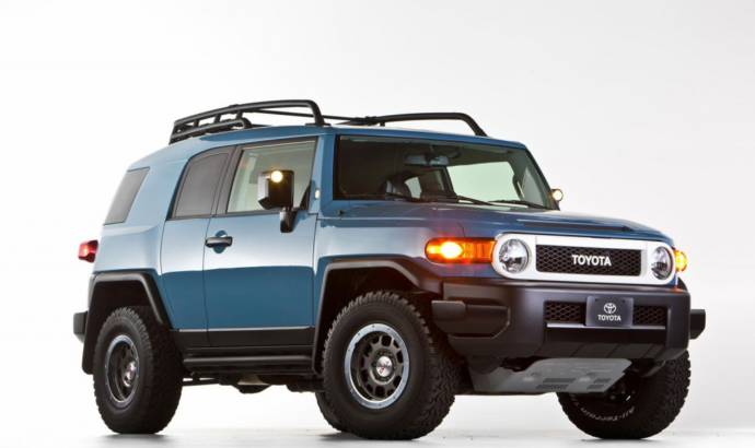 2014 Toyota FJ Cruiser Trail Teams Ultimate Edition says goodbye
