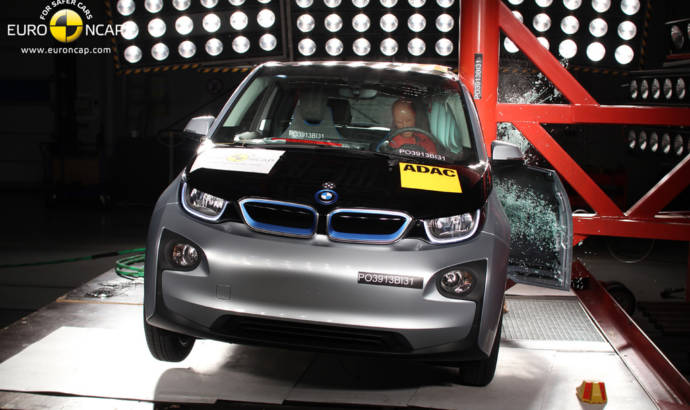 BMW i3 received only 4 stars in EuroNCAP tests