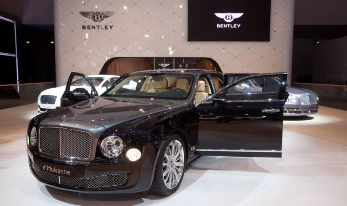 Bentley Mulsanne Shaheen unveiled