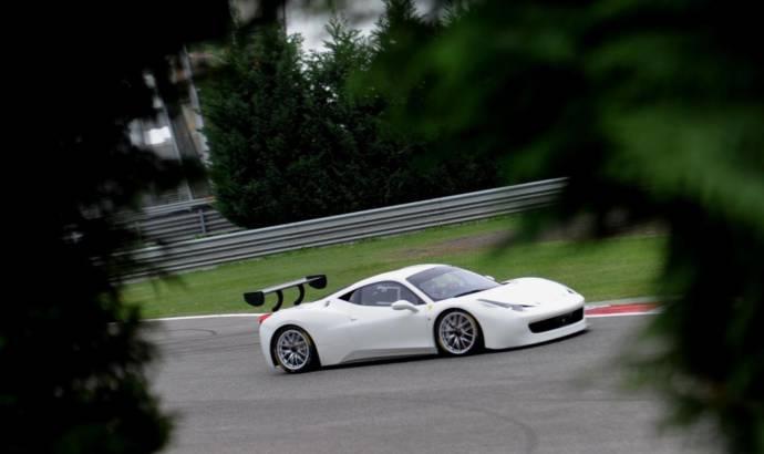 Ferrari 458 Challenge Evoluzione teaser