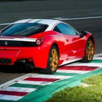 Ferrari 458 Italia Niki Lauda unveiled