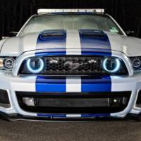 Ford Need for Speed Mustang NASCAR pace car unveiled