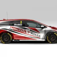 Honda Civic Tourer BTCC introduced